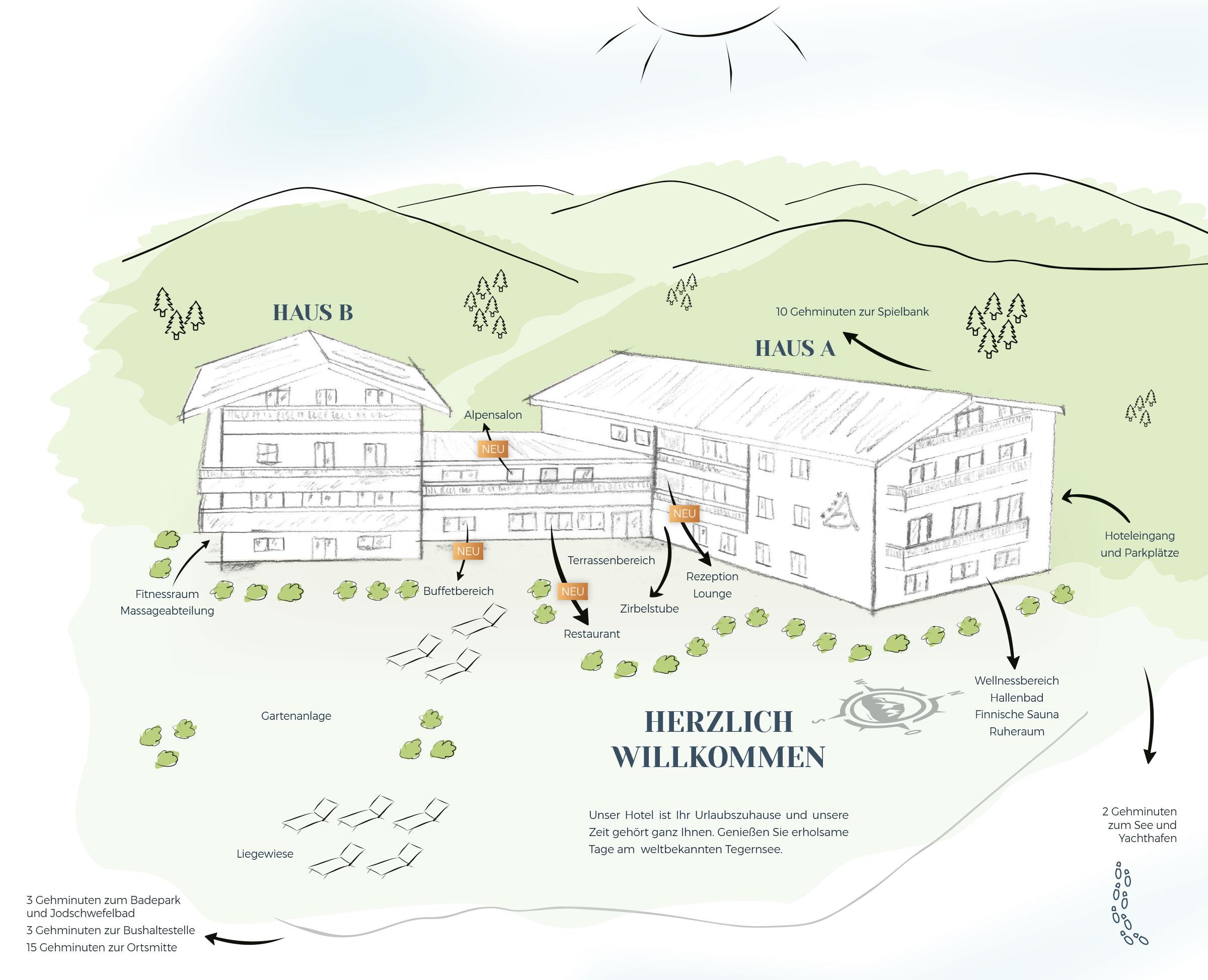 view of the alpenhof